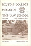 Boston College Bulletin, Law, 1967