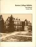 Boston College Bulletin, Law, 1980