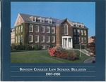 Boston College Bulletin, Law, 1987