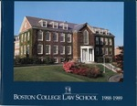 Boston College Bulletin, Law, 1988