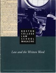 Boston College Law School Magazine Spring 1995