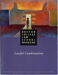 Boston College Law School Magazine Fall 1995