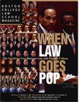 Boston College Law School Magazine Fall 2000