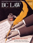 BC Law Magazine Fall/Winter 2007 by Boston College Law School