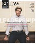 BC Law Magazine Winter 2015 by Boston College Law School