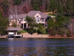McMansions on Tellico Reservoir shoreland