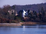 McMansions on Tellico Reservoir shoreland by Roger Simpson