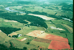 Aerial Photo of  Farmland Along the Little Tennessee River
