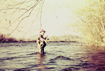 Reeling in a Fish, Little Tennessee River