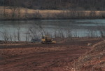 Bulldozer Clearing Land Near the Little Tennessee River