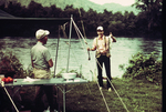 Two Men Fishing, Little Tennessee River
