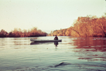 Man in a Canoe, Little Tennessee River