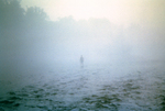 Fisherman in Fog, Little Tennessee River