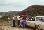 Students Preparing to Film a Documentary near the Little Tennessee River